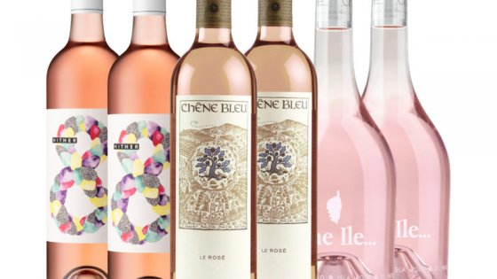 25% discount on rosé wines