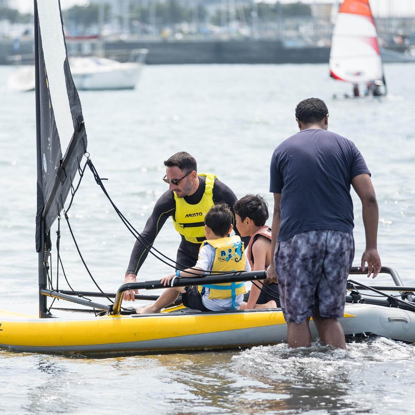 Sailing activity organized by SEGO
