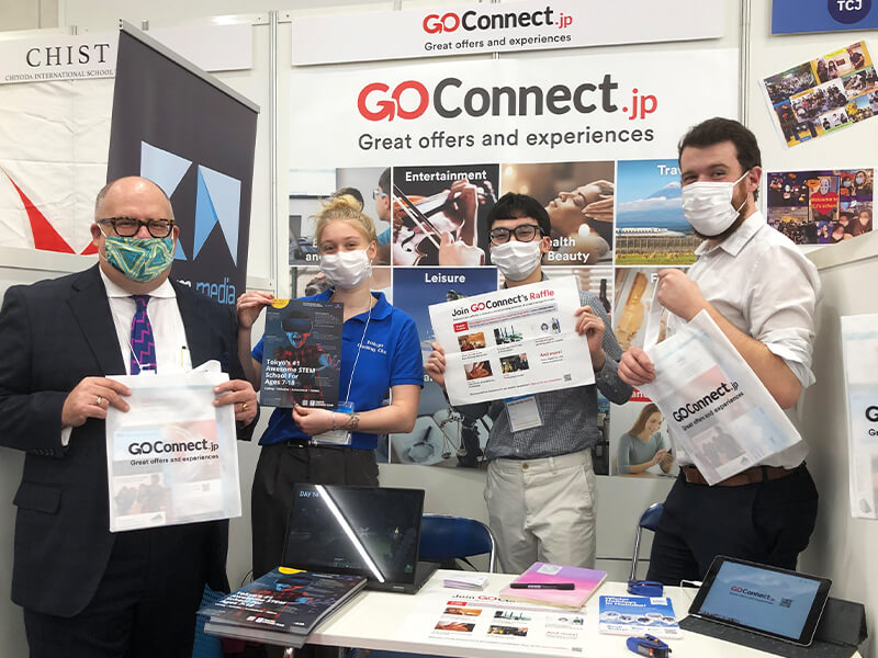 GoConnect at the Expat Expo Tokyo