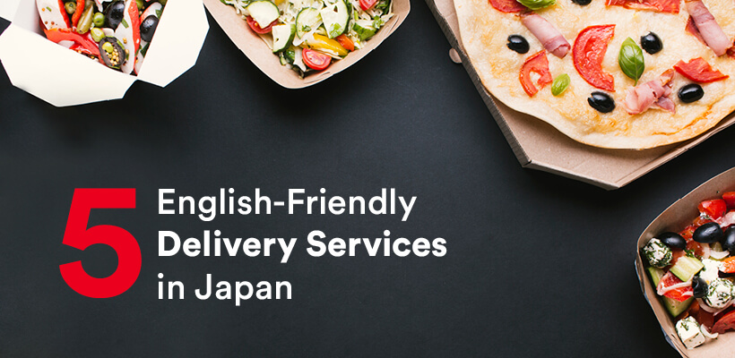 5 English-Friendly Delivery Services in Japan