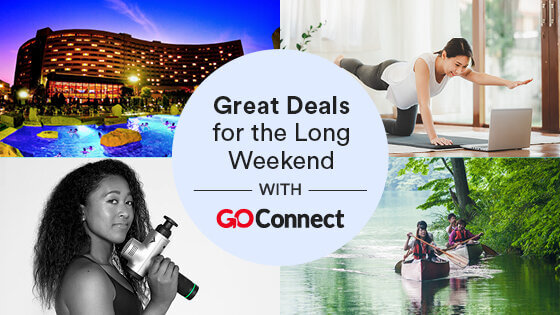 GoConnect Offers Great Deals for the Long Weekend