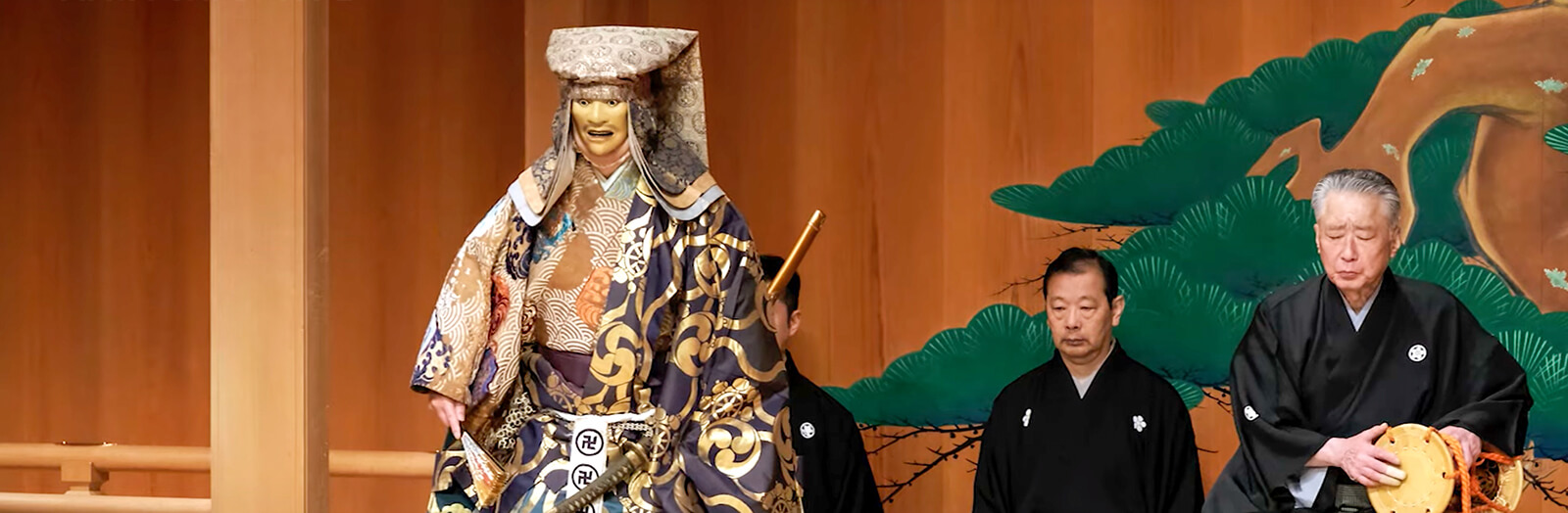 Kanze Noh Theater Offers an Exclusive Look at Japan's Traditional Arts