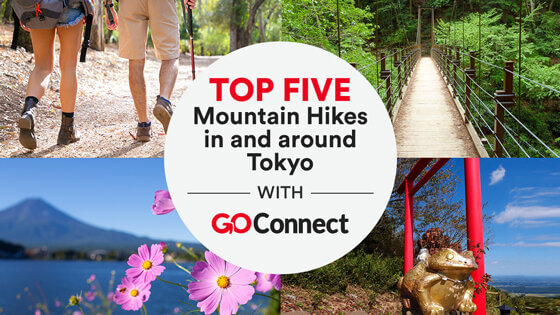 Top Five Mountain Hikes in and around Tokyo