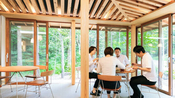 Experience a Third Office in Karuizawa